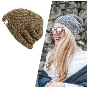 Madewell • Cotton-Linen Knit Beanie